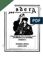 GUERRILLA MADERA N° 4 1973 viejos