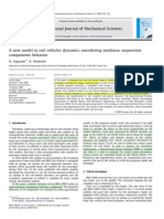 A new model in rail–vehicles dynamics considering nonlinear suspension component behavior