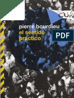 Bourdieu Pierre - El Sentido Practico