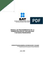 Manual Procedimientos Admon Contabilidad Financieros