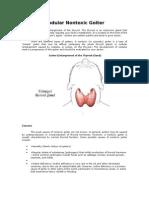 nodular nontoxic goiter.doc