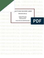 FRACTURAS MANDIBULARES
