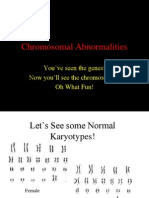 Chromosomal Abnormalities