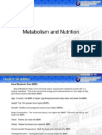 Topic 9_Metabolism and Nutrition
