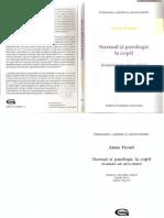 Anna Freud - Normal Si Patologic La Copil