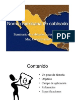 norma-mexicana cableado estructurado.ppt