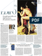 Massimo Recalcati Teorizza Il Tramonto Del Complesso Di Edipo - La Repubblica 20.03.2013