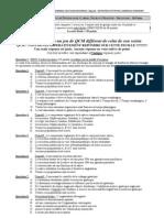 Ok Jeu 5 ELAT S4 Examen Semestriel Cardio-Neuro-Digestif Aout 2011