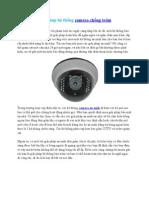 Giải pháp hệ thống camera chống trộm