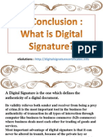 What is the Digital Signature?
