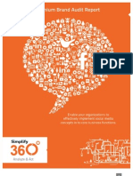 Simplify360 Premium Brand Audit Report