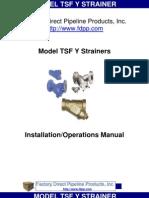 Strainer lTSF IOM