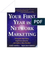 1st year in network marketing
