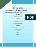 Análisis de  casos de infraestructura de redes