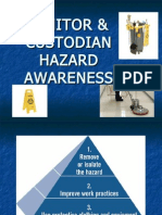 Janitors Custodians Hazards Awareness