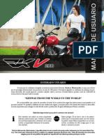 Manual Usuario Keeway RKV 200 Cc 'MX' (Idioma Castellano)