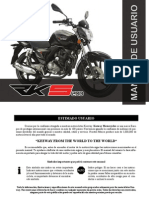 Manual de Usuario RK S 200 CC 'MX' (Idioma Castellano)