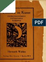 Walden_Der Sturm - Expressionismus, Futurismus, Kubismus (1917)