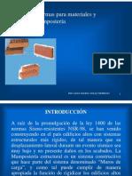 Mamposteria Materiales y Sistemas
