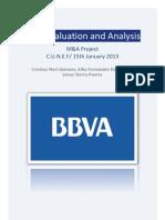 BBVA valuation 2012