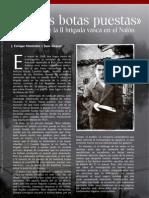 """""""Con las botas puestas"""". El desastre de la II Brigada vasca en el Nalón"""