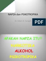 Napza Dan Psikotropika