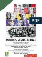 Exposición Mujeres Republicanas en Sestao