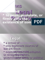 Legal Philosophy-legal Positivism