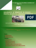 Referat SSM Norme de SSM pentru  masini cu Comanda Numerica