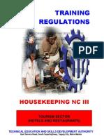 TR Housekeeping NCIII (Nov14)