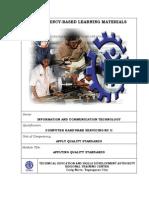 CHS CBLM - Apply Quality Standards- FINAL