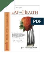 Joel Fuhram Eat for Health