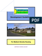 Guidelines for Medium Density Housing