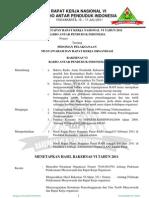 1. PO Revisi Pedoman Pelaksanaan Musyawarah & Raker RAPI Yogya