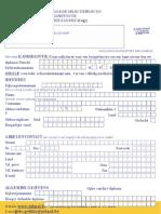 If Nl Ext Calog e Form 2012