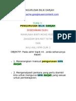Topik 7 Pengurusan Bilik Darjah