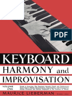 Maurice Lieberman - Keyboard Harmony and Improvisation, Vol. 1