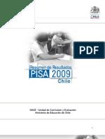 Resumen Resultados PISA 2009 Chile
