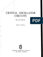 Crystal Oscillator Circuits Robert j Matthys