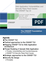 owasp top10 and security flaws