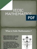 Vedic Mathematics Presentation
