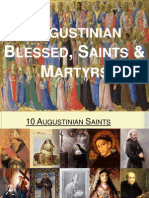Augustinian Blessed, Saints & Martyrs