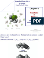 Chapter 6. Reactions of Alkynes