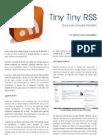 Tiny Tiny RSS(bye bye Google Reader)