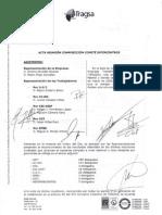 Tragsa_Acta Reunión Composición Comité Intercentros