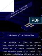 International Marketing note for mba final semester