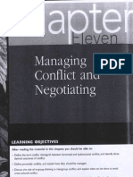 Conflict and Negociating