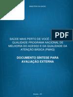 Documento Sintese Avaliacao Externa 2012-04-25