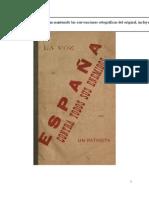 1899. La voz de España contra todos sus enemigos