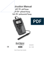 Eutech intruments pH6+